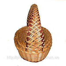 Набор плетеных корзин «Кобра» овальная из 3шт. Арт.305-3, фото 2