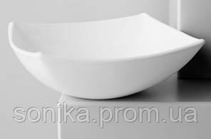 Салатник квадратний 14х14см. Luminarc Quadrato White H3668