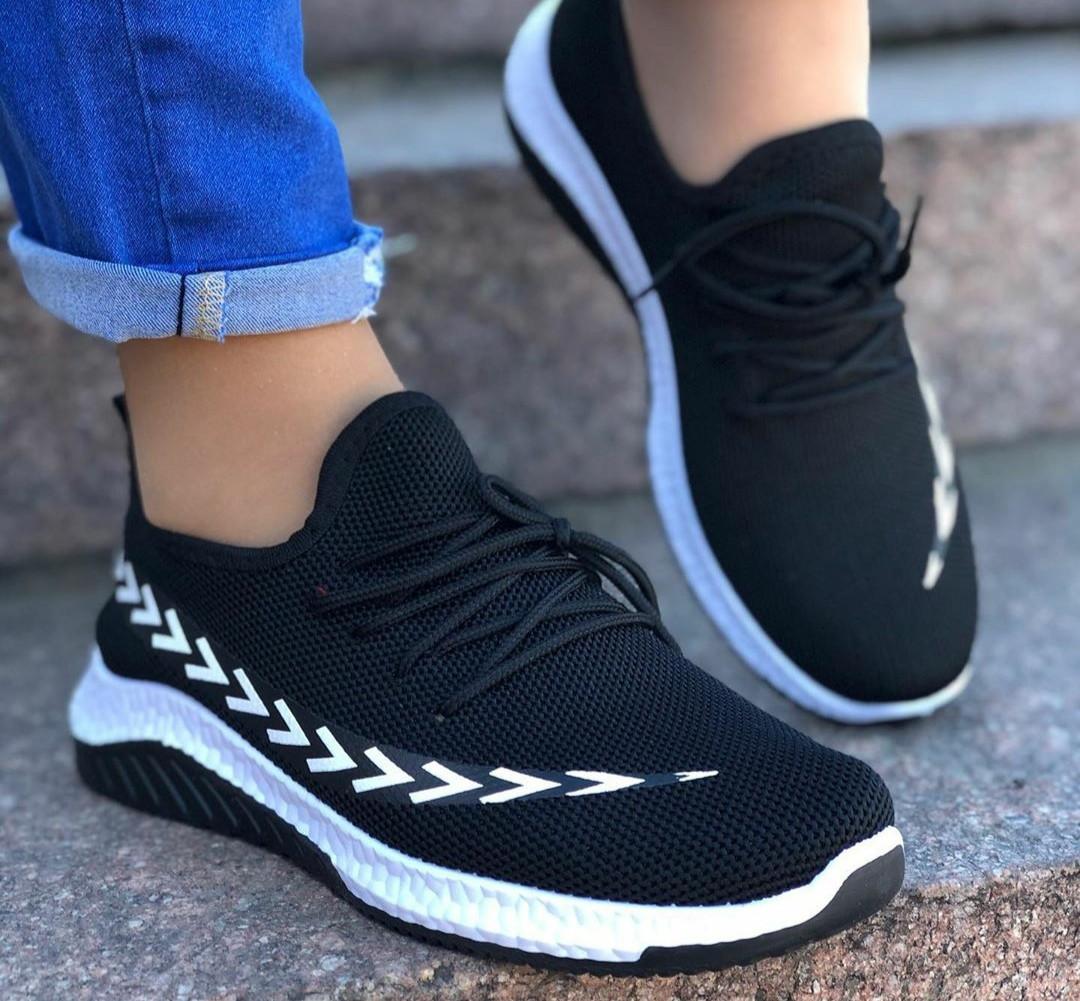 Женские кроссовки текстильные, легкие и удобные, ОВ 1284