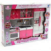 Детская игровая мебель для кукол Кухня «My happy kitchen» 66035, фото 1