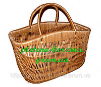 "Плетеная сумка корзина ""с горбиком"" Арт.067г"