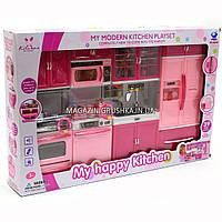 Детская игровая мебель для кукол Кухня «My happy kitchen» 66040, фото 1