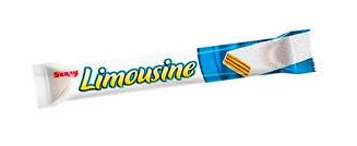 """Вафлі """"Limousine"""" в білому шоколаді 45 гр 24 шт"""