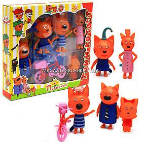 Дитячий ігровий набір фігурок «Три кота. Пікнік» 651
