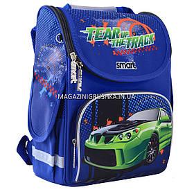 """Рюкзак шкільний каркасний Smart PG-11 """"Tear Up The Track"""""""