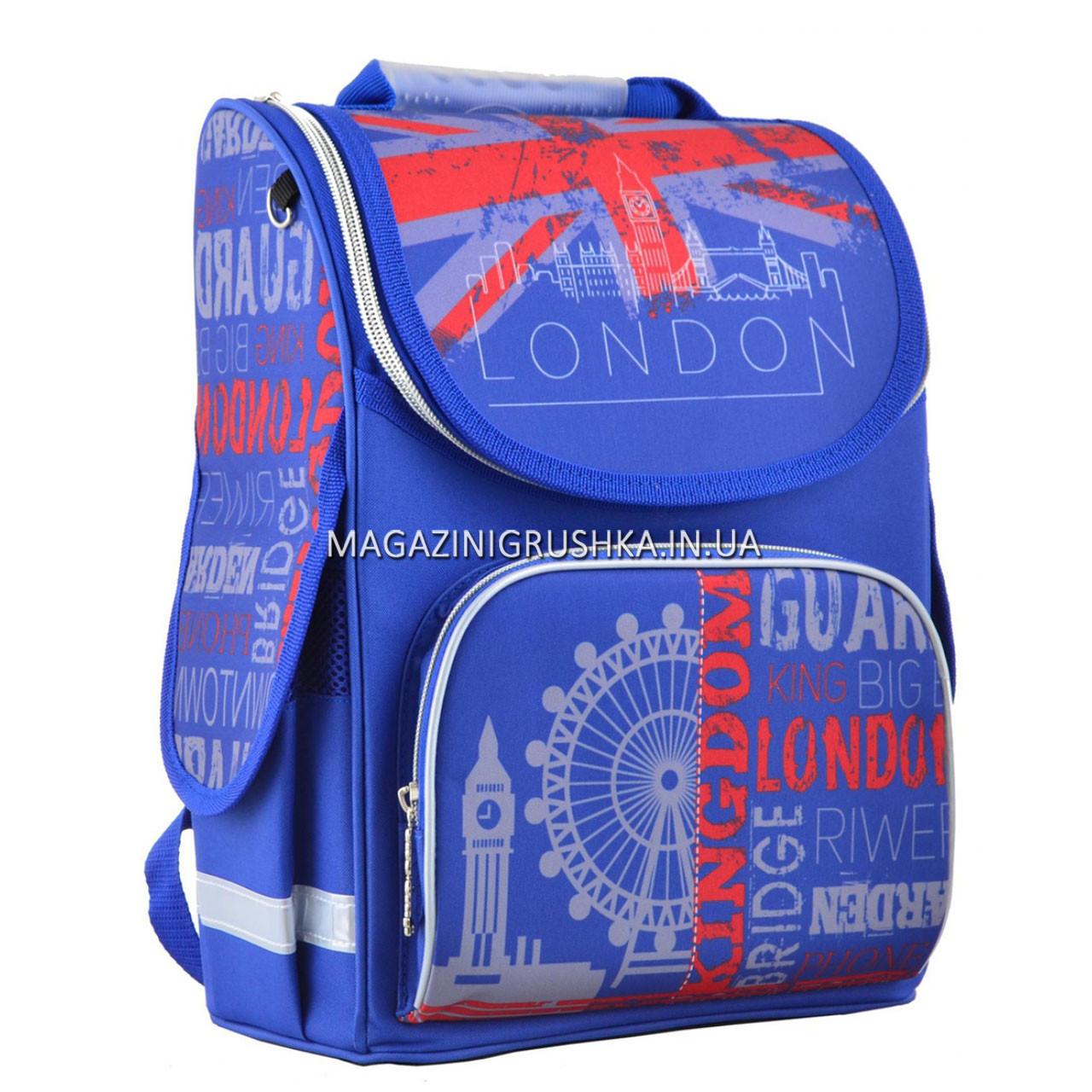 Рюкзак школьный каркасный Smart PG-11 London