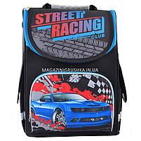 Рюкзак шкільний каркасний Smart PG-11 Street racing, фото 2