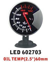 Дополнительный прибор Ket Gauge LED 602703 температура масла