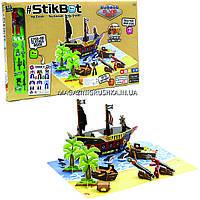 Игровой набор Stikbot S2 - Остров Сокровищ стикбот, наклейки, аксессуары 2110