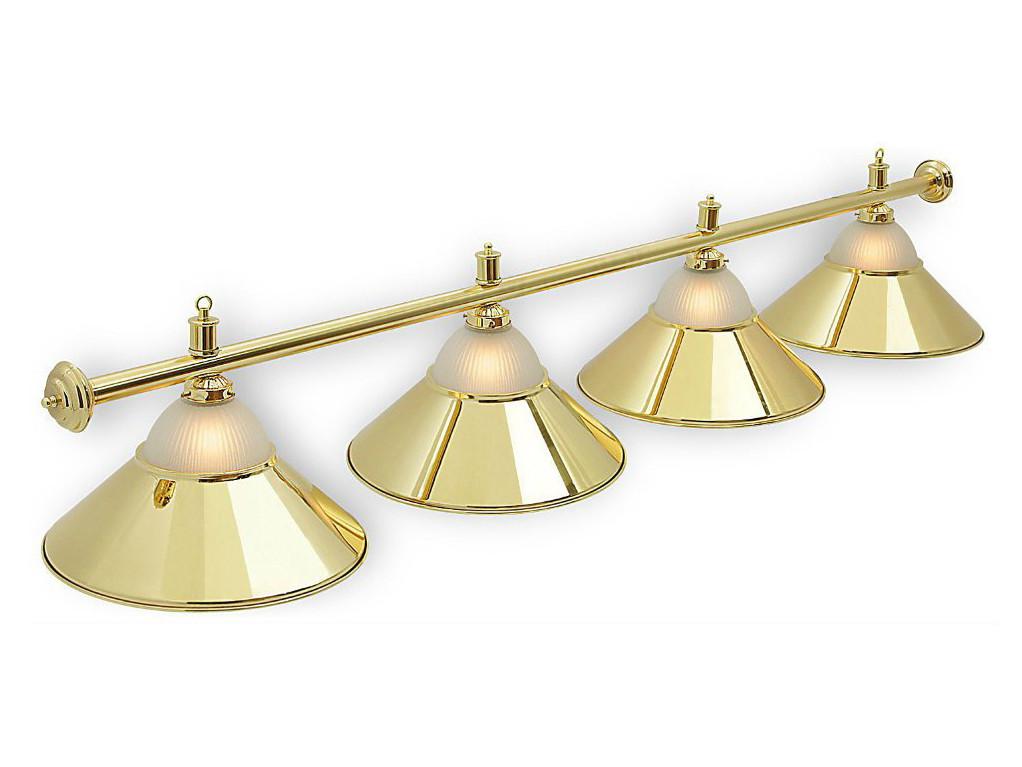 Світильник більярдний Classic Gold 4 плафона