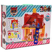 Игровой набор конструктор домик для кукол LOL 5685 - 4 фигурки, фото 2