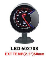 Дополнительный прибор Ket Gaug LED 602708 температура выхлопных газов EGT