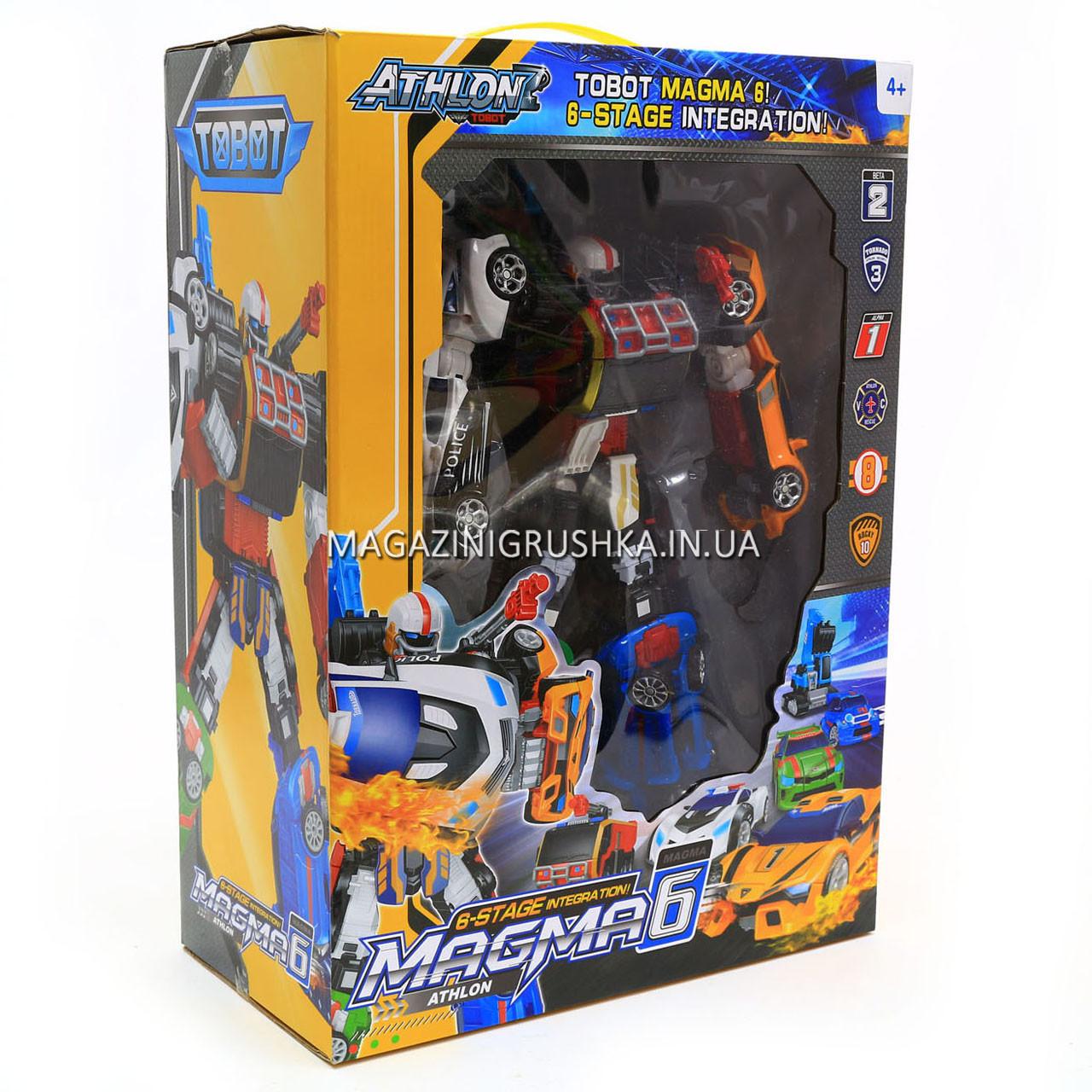 Игровой набор роботы тоботы «Tobot» 6 в 1 арт 523