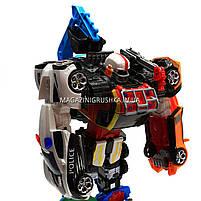 Игровой набор роботы тоботы «Tobot» 6 в 1 арт 523, фото 5