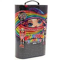 Игровой набор с куклой-сюрпризом Poopsie Rainbow Girls Радужная или Розовая Леди, в закрытом тубусе (559887)