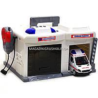 Игровой набор Скорая помощь Chengmei Toys (машинка, рация, свет, звук) CLM-557, фото 9