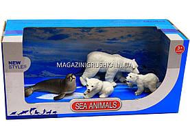 Фигурки «Морские животные» - Белые медведи, морж PD127-44