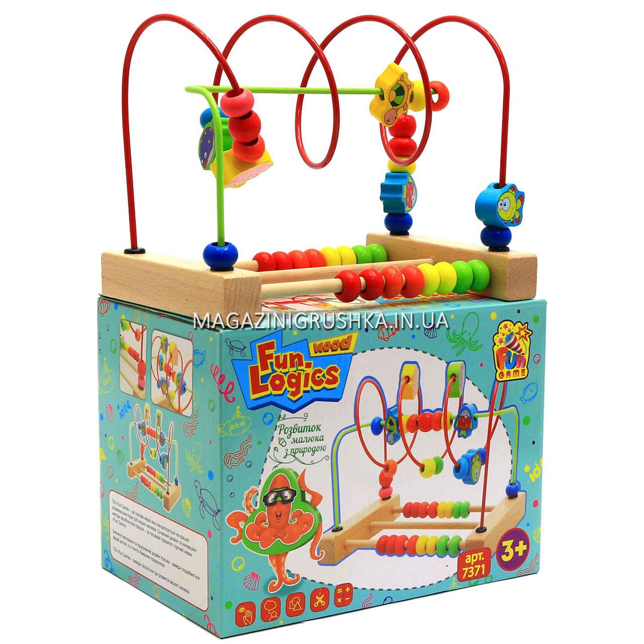 Розвиваюча іграшка для дітей Fun logics «Лабіринт» 7371