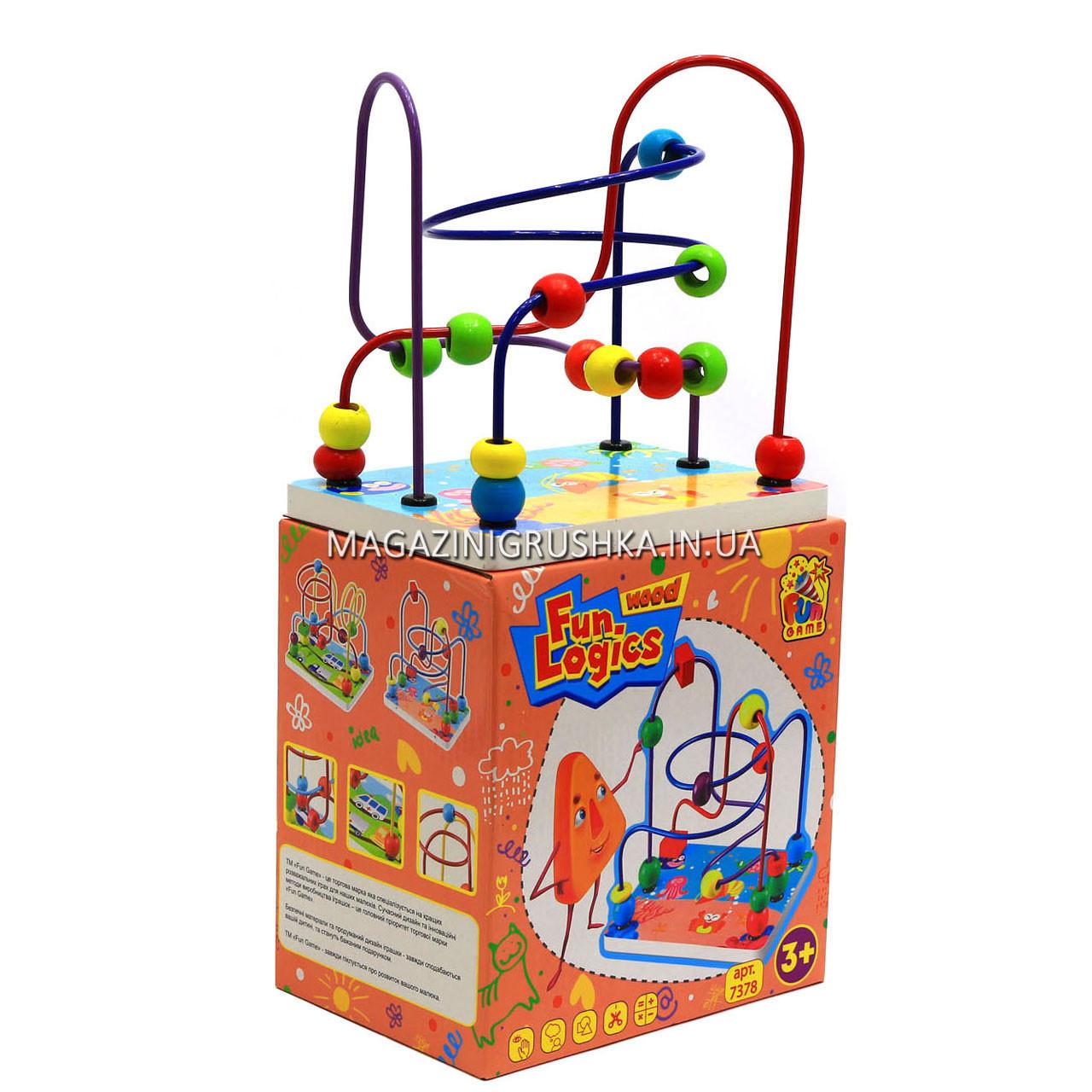 Розвиваюча іграшка для дітей Fun logics «Лабіринт» 7378