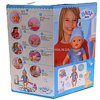 Интерактивная кукла Baby Born (беби бон). Пупс с одеждой и аксессуарами, 8 функций беби борн, 43 см (BL033E), фото 2