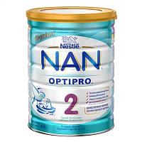 Сухая молочная смесь NAN 2 Optipro для детей с 6 месяцев, 800 г