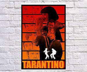 Постер BEGEMOT Криминальное чтиво Pulp Fiction 40x61 см (1121198)
