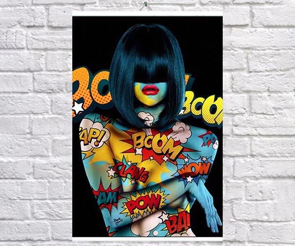 Постер плакат BEGEMOT Поп-Арт Девушки Pop-Art Girls 40x61 см (1121210)