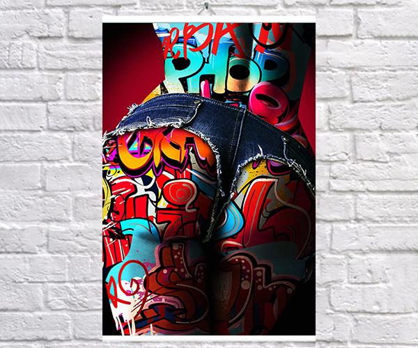 Постер плакат BEGEMOT Поп-Арт Девушки Pop-Art Girls 40x61 см (1121213)