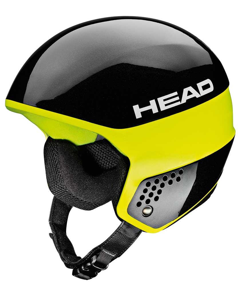 Горнолыжный шлем Head Stivot Race carbon black/lime, XL/XXL (MD)