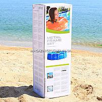 Круглый каркасный бассейн Intex 28200 (305х76 см) Metal Frame Pool, фото 4