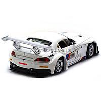 Машинка игровая автопром «BMW Z4 GT3», 18 см, свет, звук, двери открываются, белый (68251A), фото 2