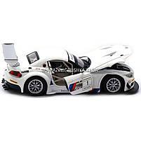 Машинка игровая автопром «BMW Z4 GT3», 18 см, свет, звук, двери открываются, белый (68251A), фото 5