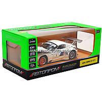Машинка игровая автопром «BMW Z4 GT3», 18 см, свет, звук, двери открываются, белый (68251A), фото 7