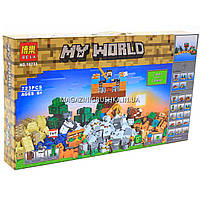 Конструктор Майнкрафт (Minecraft) «My world» - Верстак 2.0 (10733)