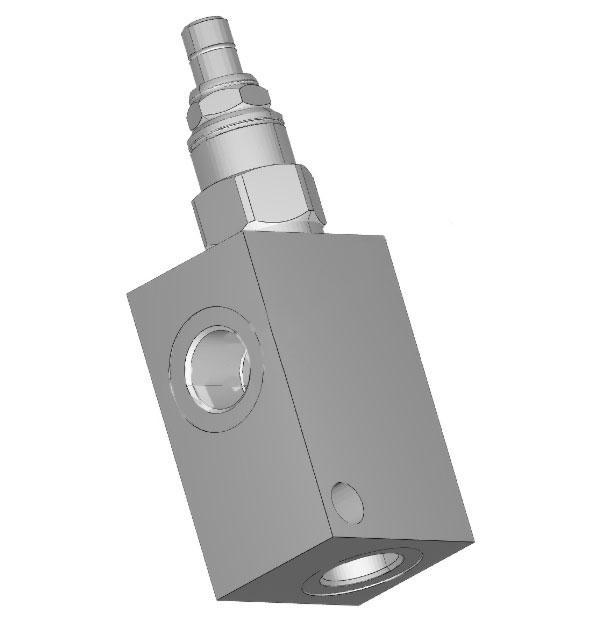 Гидравлический предохранительный клапан Sun Hydraulics серии RDDA и RPEC 95 л/мин, 2 порта