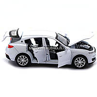 Машинка ігрова автопром «Maserati levante», 14 см, світло, звук, двері відкриваються, білий (7641), фото 2