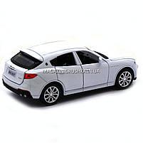 Машинка игровая автопром «Maserati levante», 14 см, свет, звук, двери открываются, белый (7641), фото 7
