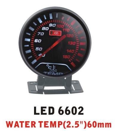 Дополнительный прибор Ket Gauge LED 6602 температура воды