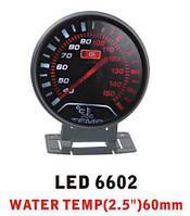 Дополнительный прибор Ket Gauge LED 6602 температура воды. Приборы для тюнинга