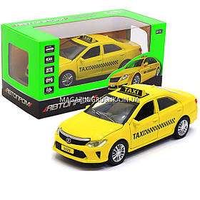 Машинка игровая автопром Toyota«Taxi» (Такси) 7843