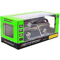 Машинка ігрова автопром «Toyota» Тойота джип, метал, 18 см, чорний (світло, звук, двері відкриваються) 7662, фото 4