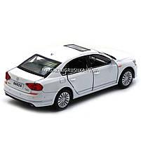 Машинка игровая автопром «Volkswagen Passat», 14 см, свет, звук, двери открываются, белый (6604), фото 8