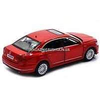 Машинка ігрова автопром «Volkswagen Passat», 14 см, світло, звук, двері відкриваються, червоний (6604), фото 2