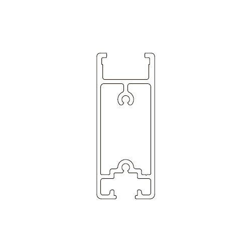 Профіль горизонтальний Універсальний алюм., під 108\T\120, 6м