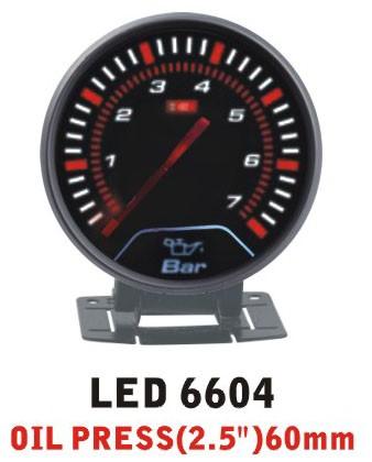 Дополнительный прибор Ket Gauge LED 6604 давление масла