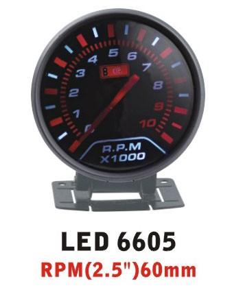 Дополнительный прибор Ket Gauge LED 6605 тахометр
