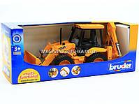 Машинка серія спецтехніка Брудер - Навантажувач-екскаватор 02428, фото 3