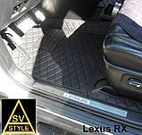 Килимки на Lexus RX Шкіряні 3D (XU30 2003-2009) Нові Оригінальні Лексус РХ 350, фото 3