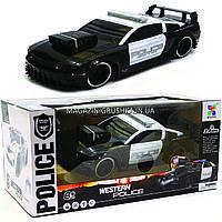 Машинка «Полиция» на радиоуправлении 75599P (аккумулятор, звук, свет, резиновые колеса), фото 1