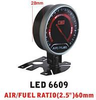 Дополнительный прибор Ket Gauge LED 6609 экономайзер Air Fuel состав смеси